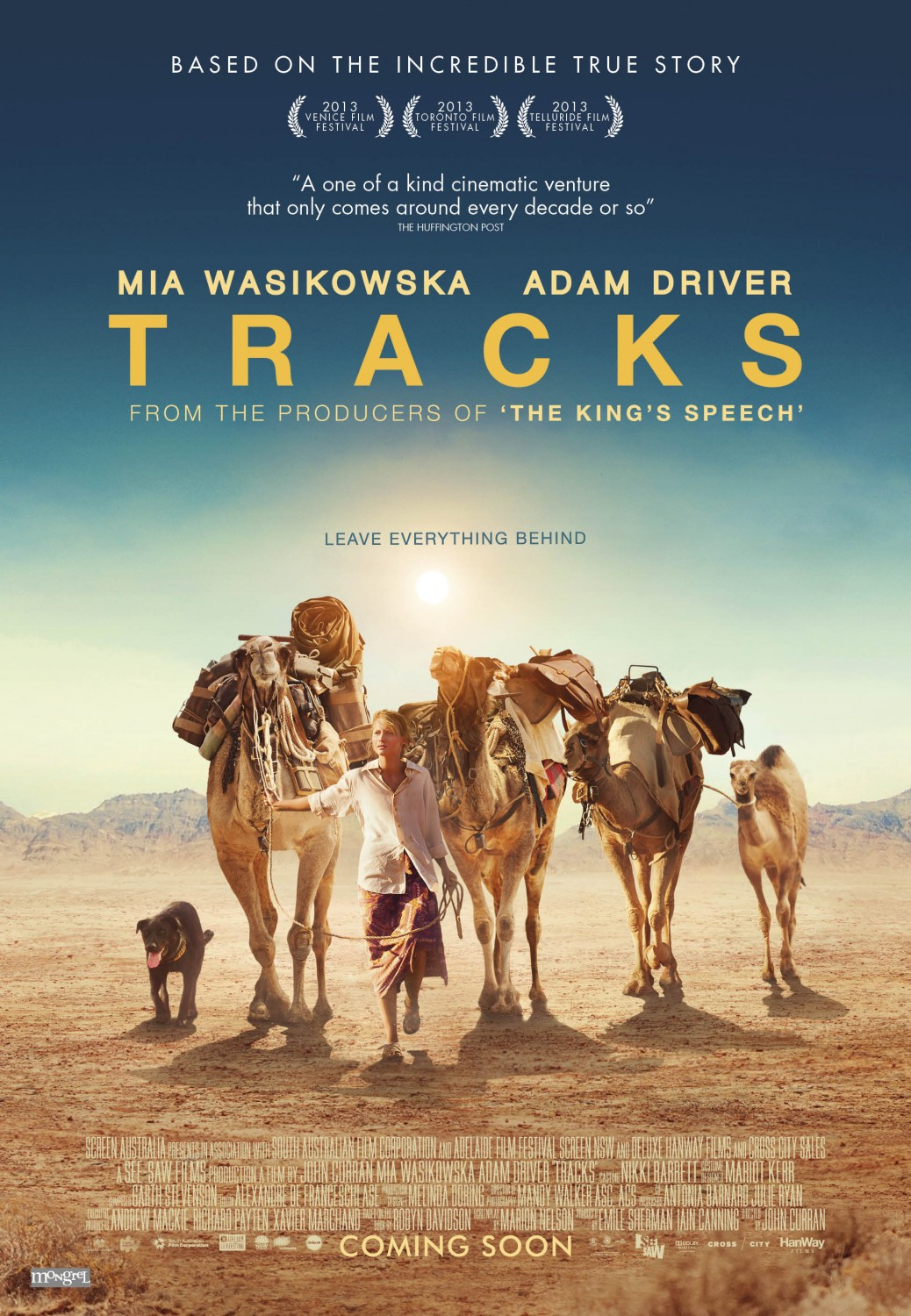 Travel Movie Monday: Tracks | The Cheerful Wanderer