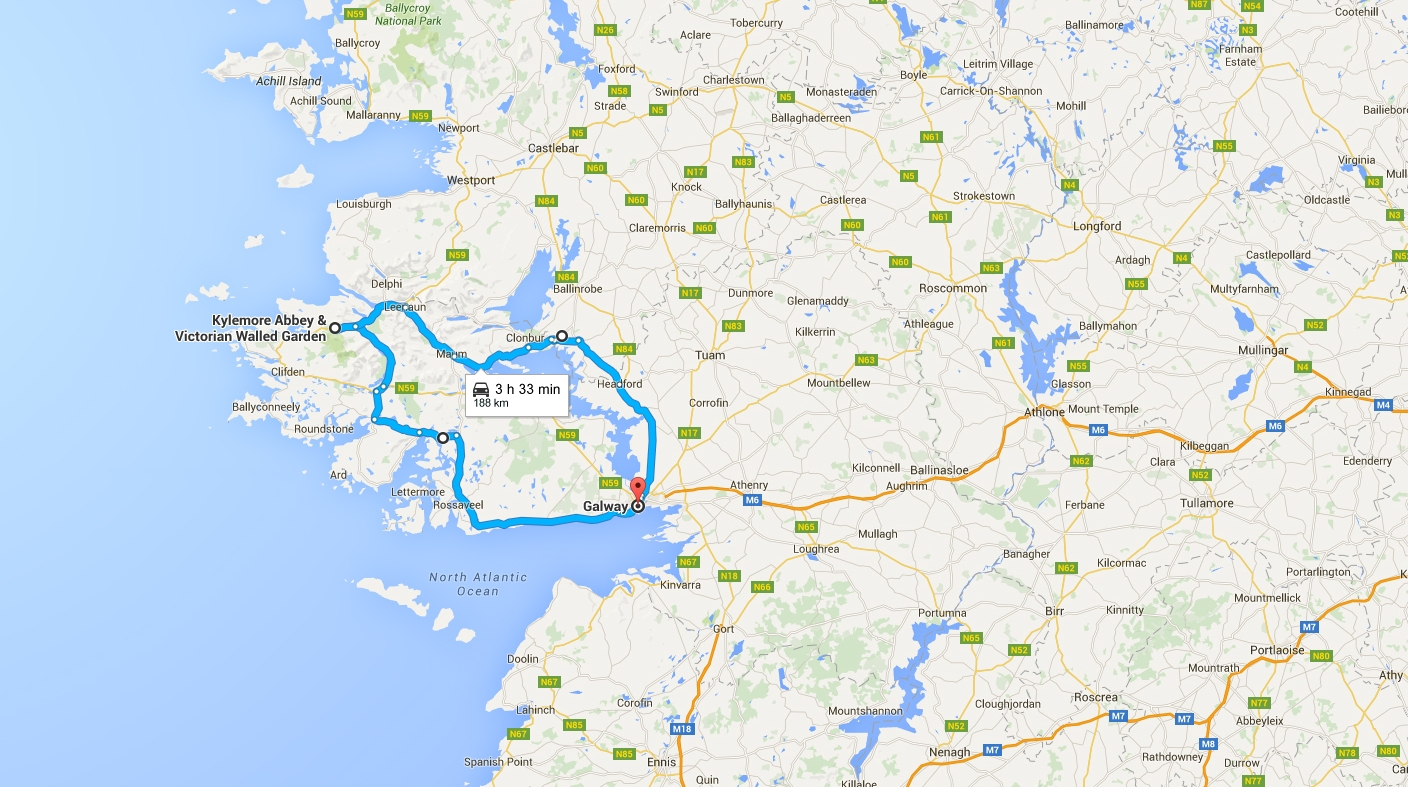 The ultimate 1 week road trip itinerary for Ireland | The Cheerful Wanderer