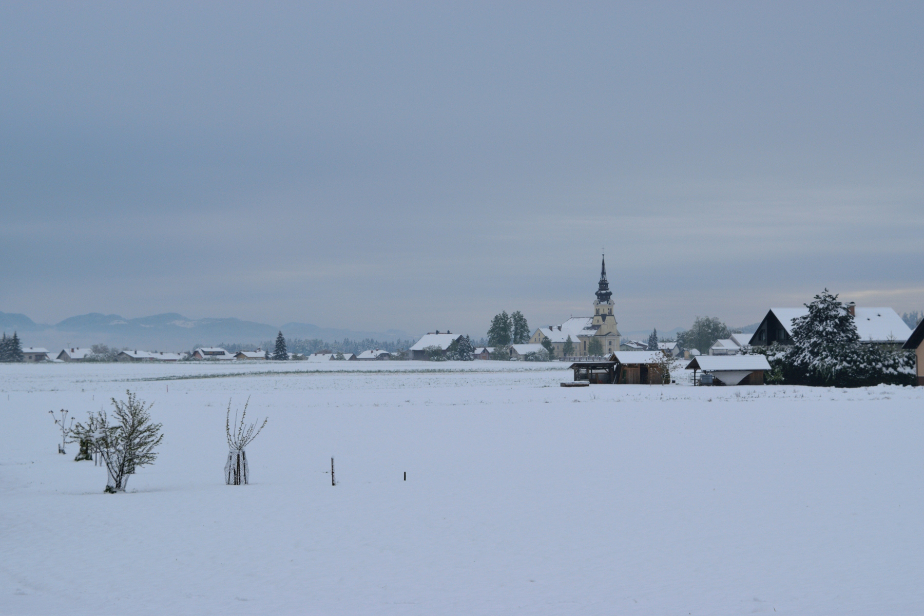 Snowy postcards from Slovenia   The Cheerful Wanderer