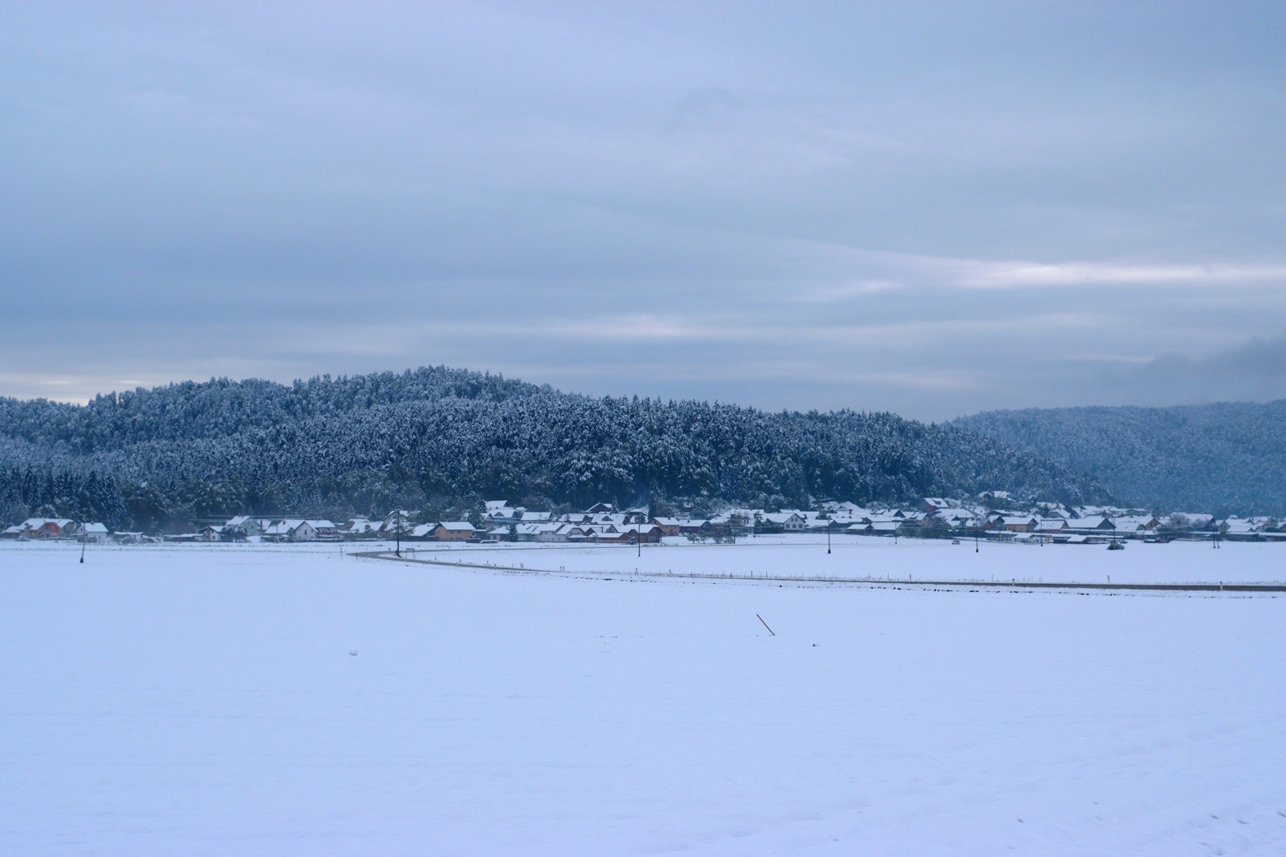 Snowy postcards from Slovenia | The Cheerful Wanderer
