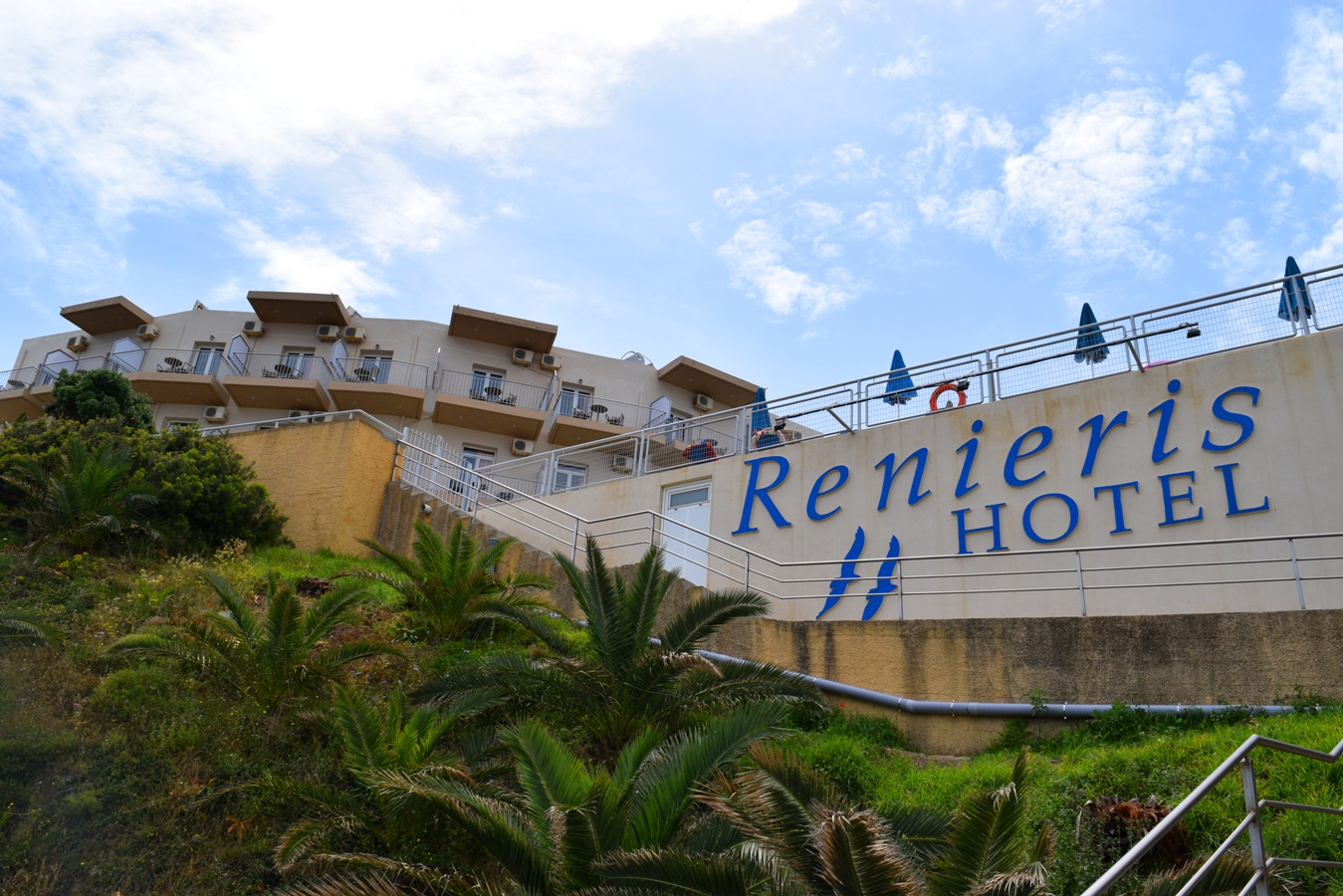 Renieris Hotel: Quiet place with a great view (Review) | The Cheerful Wanderer
