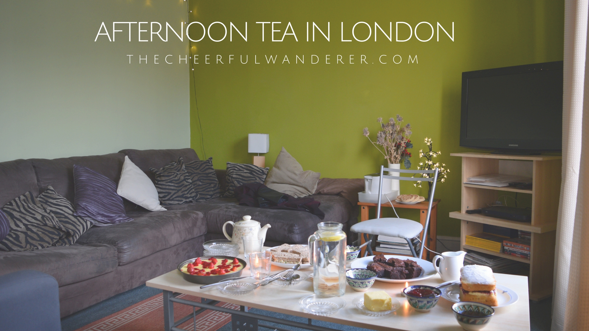 An Affordable Freshly Prepared Afternoon Tea in London | The Cheerful Wanderer