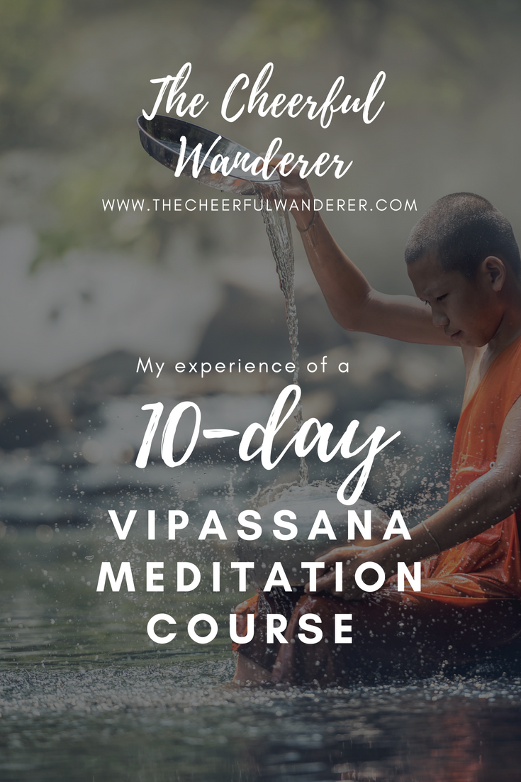 My Experience of a 10-Day Vipassana Meditation Course in Slovenia | The Cheerful Wanderer