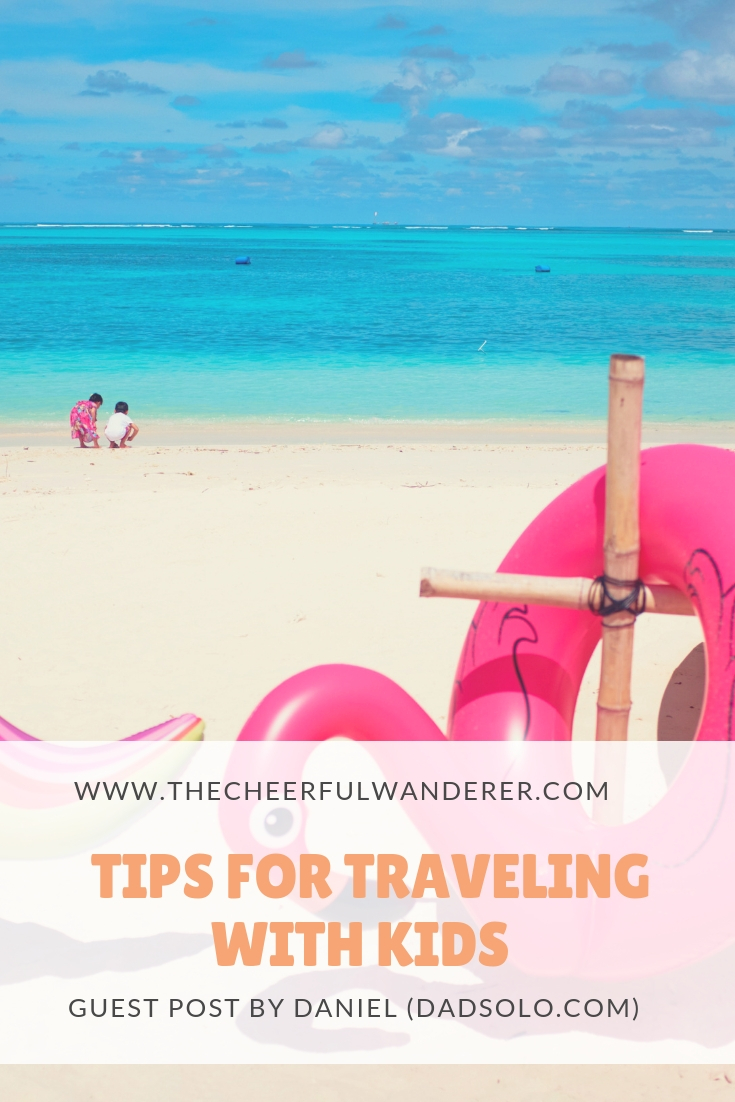 Surviving the Friendly Skies and Other Travel Adventures with Kids (Guest Post at The Cheerful Wanderer)