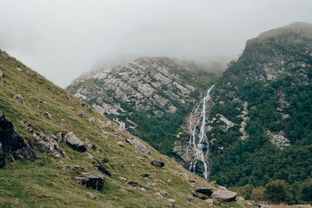 Steall Waterfalls by The Cheerful Wanderer (http://thecheerfulwanderer.com)